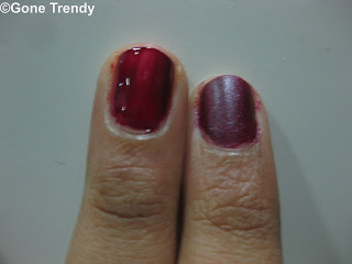 Make Matte nail polish at Home using regular polish.
