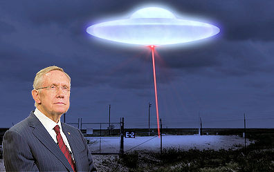 Pentagon UFO Study & Harry Reid