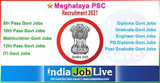 meghalaya-psc-recruitment-indiajoblive.com