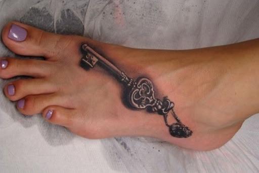 Realista, Pé-Chave Da Tatuagem