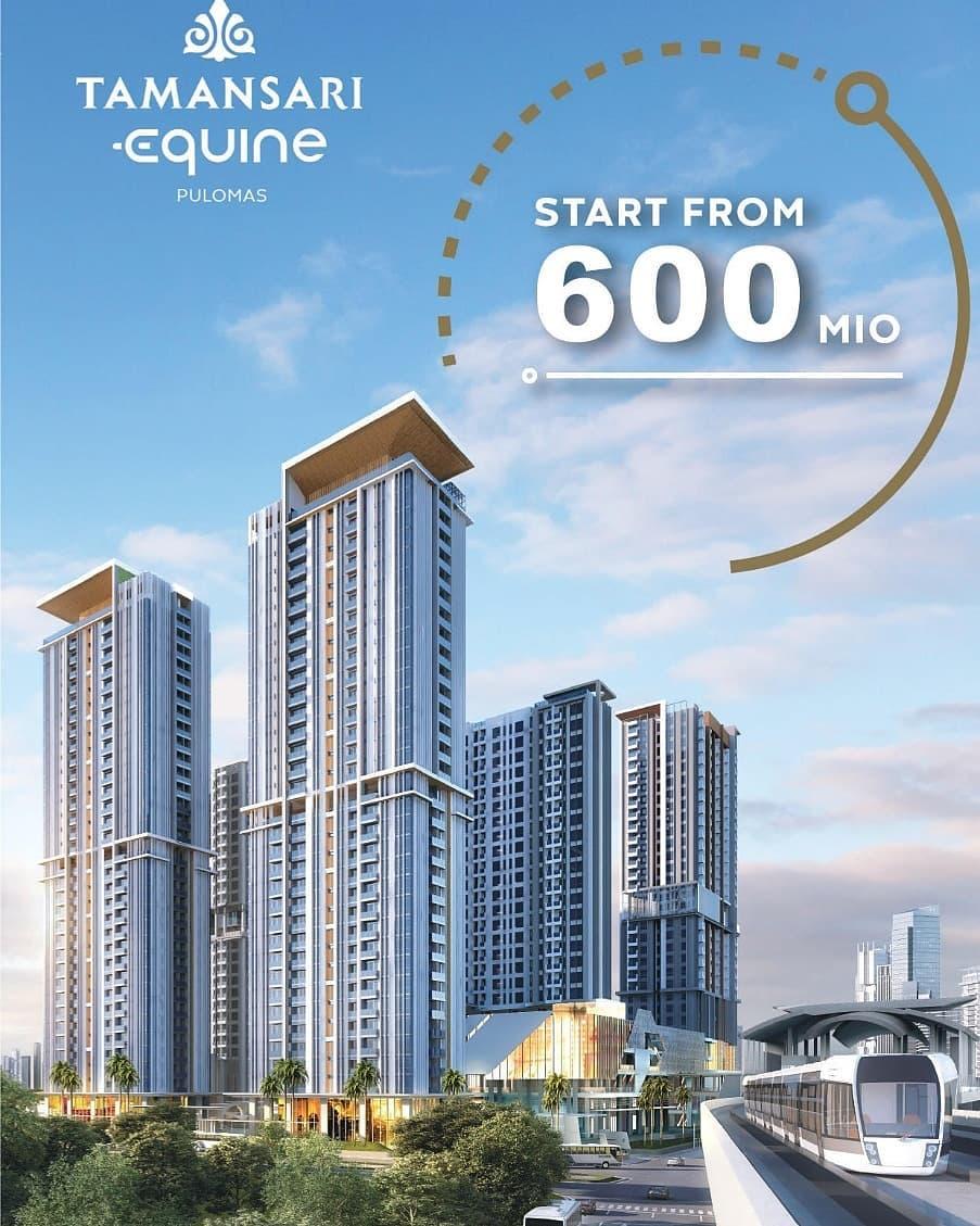 Tamansari Equine Pulomas Apartment Promo Special September 2020