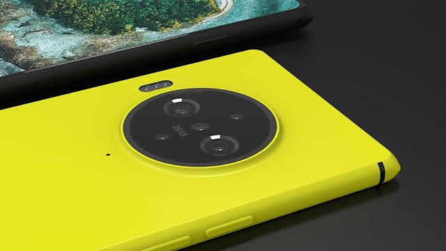 Nokia Concept with 200 MP Camera