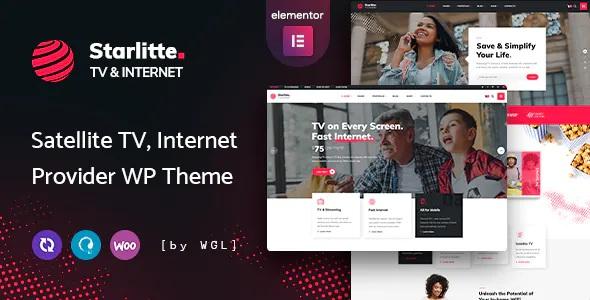 Best TV & Internet Provider WordPress Theme