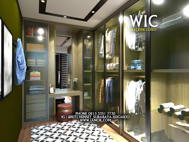 wardrobe walk in closed