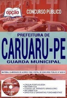 Baixar Apostila Prefeitura de Caruaru 2018 PDF