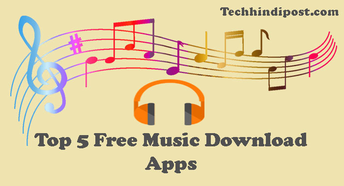 Top 5 Free Music Android Apps