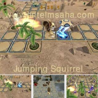 تحميل لعبة السنجاب Jumping Squirrel للكمبيوتر