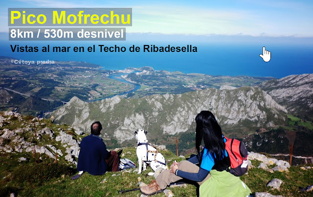Ruta al Pico Monfrechu