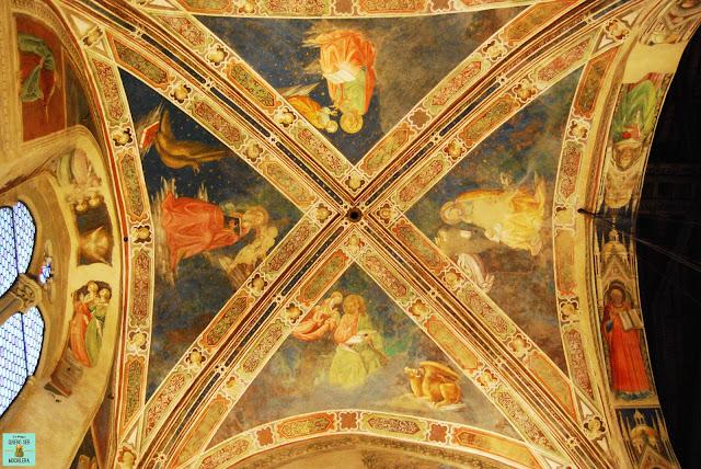 Frescos de la Leyenda de la Cruz de Arezzo