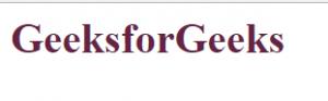 mengubah warna huruf menjadi warna purple dengan menggunakan hexadecimal color pada laman html