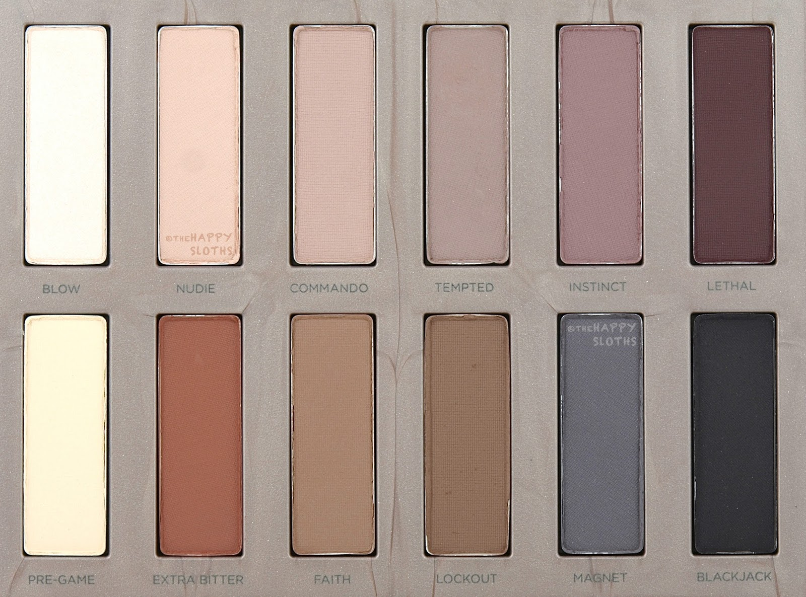 Urban Decay Naked Ultimate Basics Review and Swatches