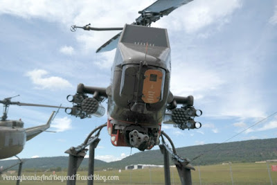 Military Helicopter at Fort Indiantown Gap in Pennsylvania