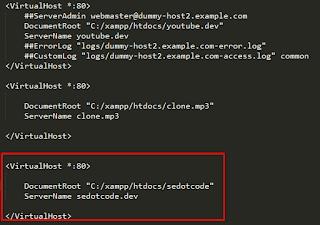 Cara Membuat Virtual Host Di Xampp Terbaru 100% Pasti Work