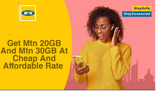 Secret Way to get MTN 20GB and 30GB at a very Cheap and Affordable price