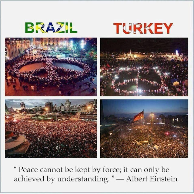 Protests in brazil and turkey