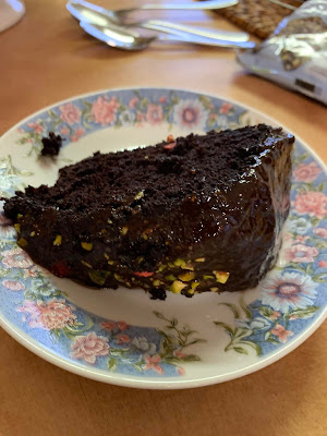 Nigellas Gluten Free Dark and Sumptuous Chocolate Cake Slice