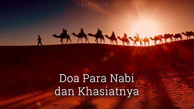 Doa Para Nabi dan Khasiatnya