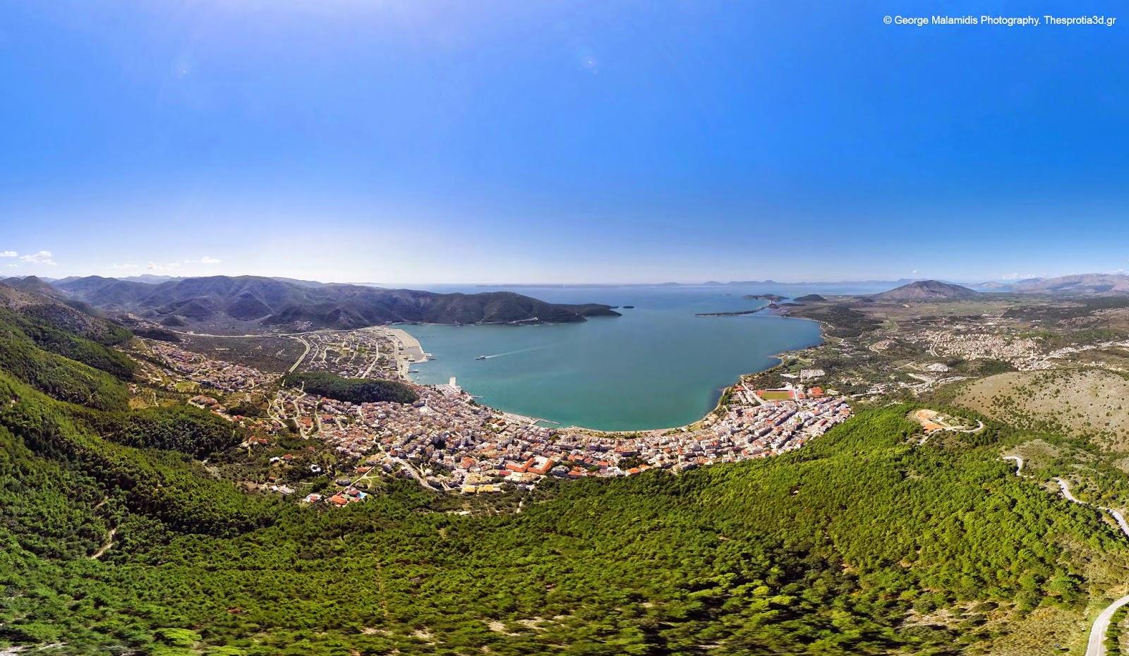 Η Ηγουμενίτσα από ψηλά και σε 3d (ΦΩΤΟΓΡΑΦΙΕΣ)