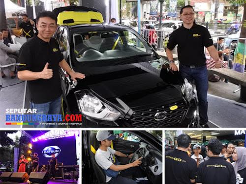 Peluncuran Datsun Go Live Bandung