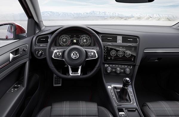 Interior Volkswagen Golf GTi 2018 Argentina
