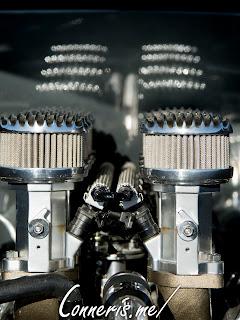 Custom Buick Super Engine Front