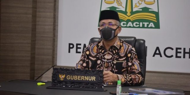 ''BREAKING NEWS'' Gubernur Aceh Perpanjang PPKM Hingga 6 September
