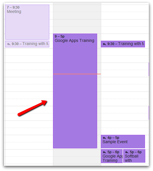 How to Create an 'All Day Event' in Google Calendar - Google Cloud