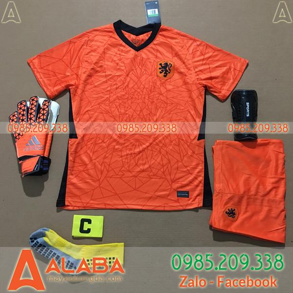 Áo Hà Lan 2020 Sân Nhà Màu Cam