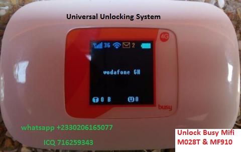 Unlock Busy 4G MiFi M028T Mifi (Shanghai Boost Even)