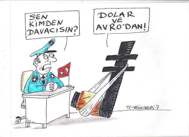 türk lirası karikatürü