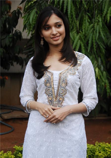 Actress Tamanna Cute Pics In White Dress Actress Trend