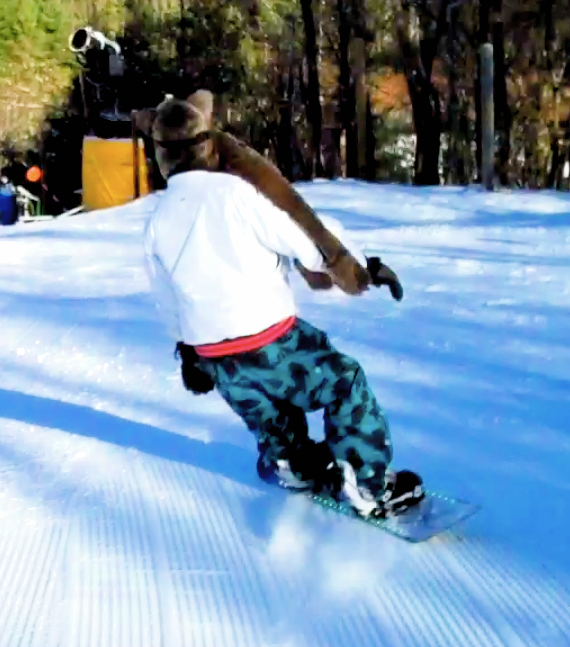 Is This The Most Awkward Snowboard Company Ever?