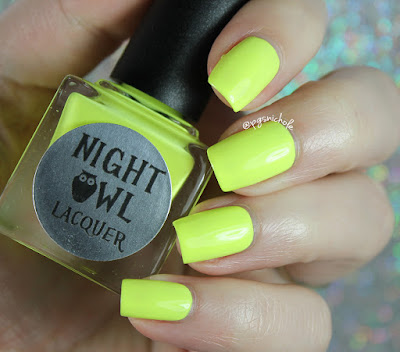 Night Owl Lacquer Imagine | Light & Bright Neon Creams