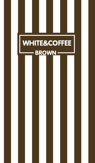 Coffee Brown & White Theme (jp)