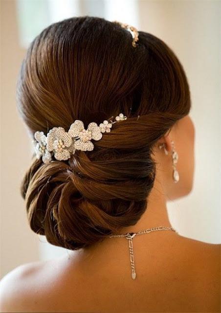 peinados de novia a la moda