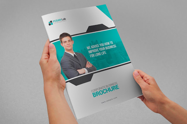 Bifold, Brochure, Corporate, Business, Free, Print, Template