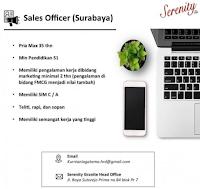 Info Loker Surabaya di Serenity Granite Head Office Juni 2021