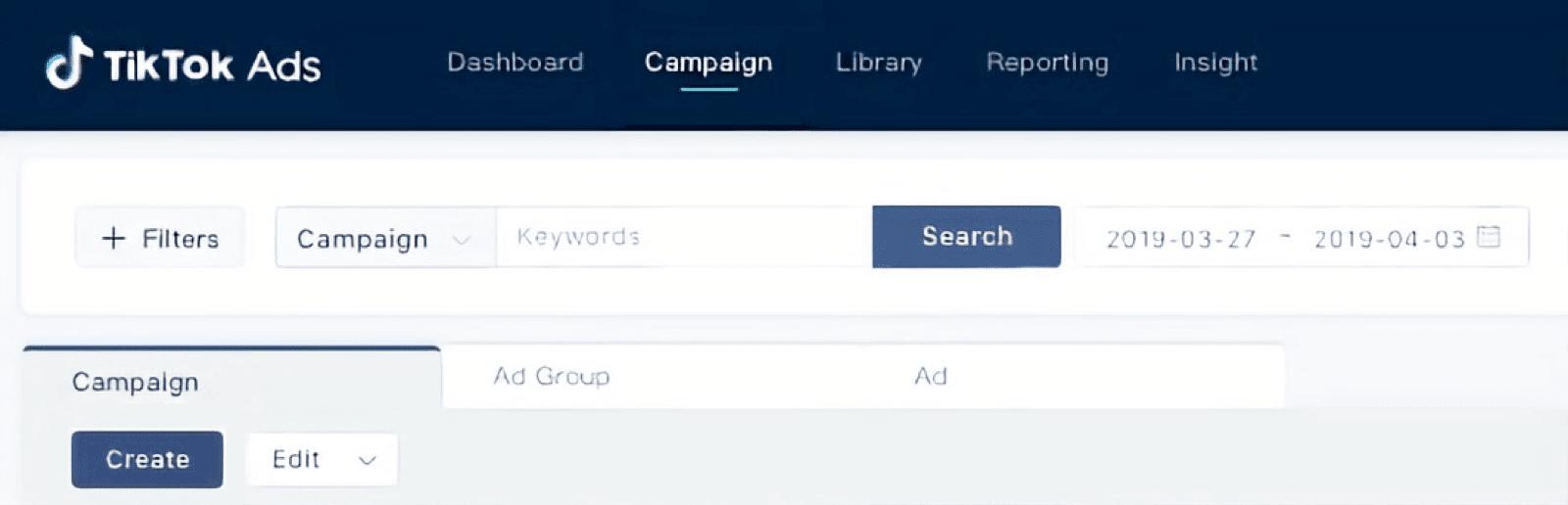 Create a TikTok Advertising Campaign
