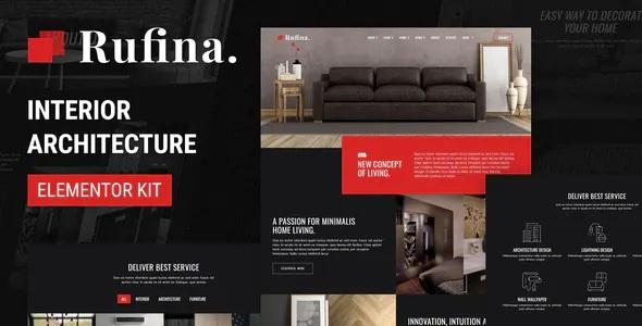 Best Interior Architecture Elementor Template Kit