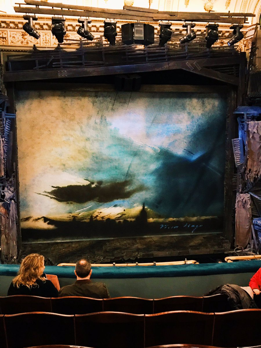 View of the stage - Les Miserables at the Sondheim Theatre