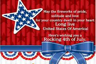 US Independence Day Greetings Cards