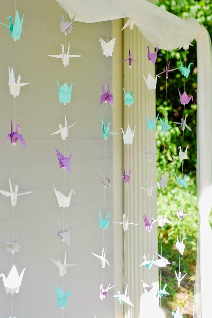 Ki Ideas Para Decorar Tu Fiesta Con Origami