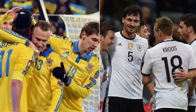 Alemania vs Ucrania en vivo Eurocopa 2016