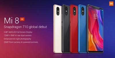 Gambar dan Spesifikasi Xiaomi MI 8 SE