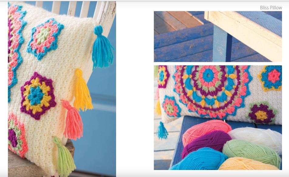 Bliss Pillow Crochet Pattern