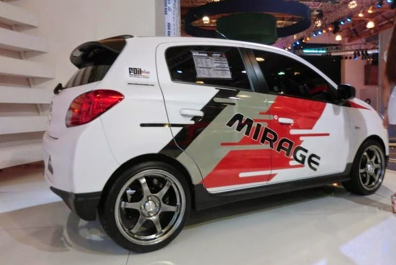 modifikasi mobil mirage