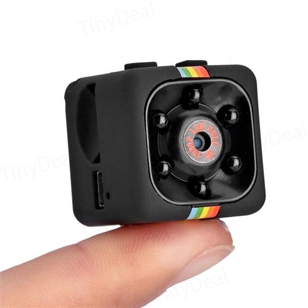1/2 pcs Mini Camera SQ11 Night Vision FOV140 1080P DV Video Recorder