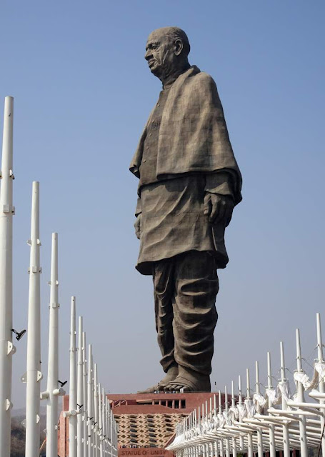 statue of unity, sardar patel statue, world's tallest statue, patel statue, vallabhbhai patel statue, statue of unity height