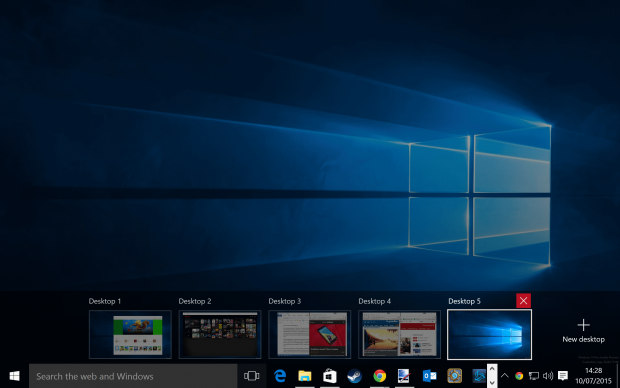 How to Create and Use Virtual Desktops on Windows 10
