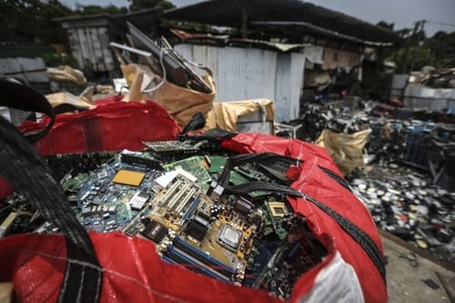 E-waste is setting a record